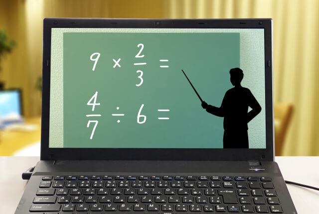 オンラインで受ける家庭教師の授業